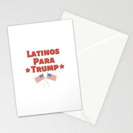 Latinos Para Trump - Pro Trump US 2020 Election Design Stationery Cards