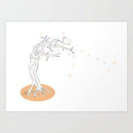 Autumn Lovers Art Print