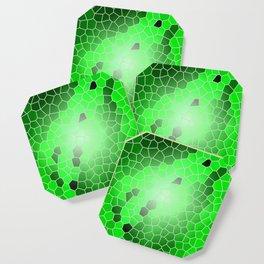 Colorful Green Windows Coaster