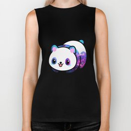 Kawaii Galactic Mighty Panda Biker Tank