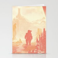 dragon age Stationery Cards featuring Dragon Age: Varric by Sara Cuervo