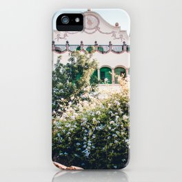Larrard House | Park Guell Barcelona Spain Travel Architecture Photography iPhone Case