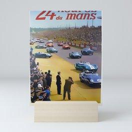 24 Hours of Le Mans 1960 Mini Art Print