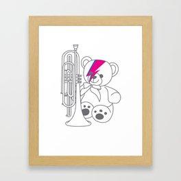 Bix Bowie Framed Art Print