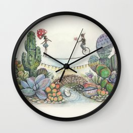 Love is a balanced act Wall Clock