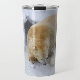 polar bear cub Travel Mug
