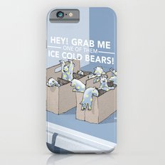 Ice Cold Bears Slim Case iPhone 6s