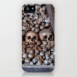Pile of Remains iPhone Case