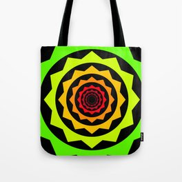 Abstract Spikey Tunnel Tote Bag