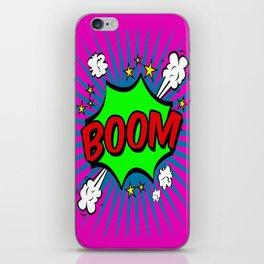 Boom Pink Boom iPhone Skin