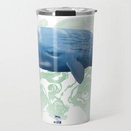 Power swimmer of the oceans Travel Mug