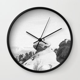 ARCHES NATIONAL PARK III / Utah Wall Clock