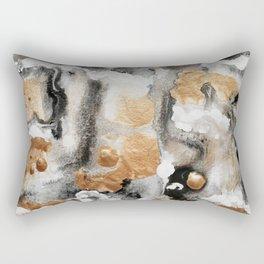 Natural Abstract Rectangular Pillow