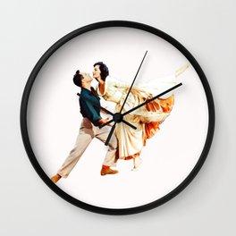 Gene Kelly and Cyd Charisse - Brigadoon Wall Clock