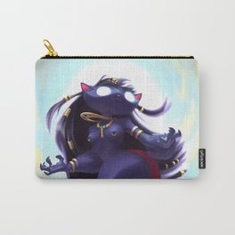 Bastet. The Egyptian Goddess Carry-All Pouch