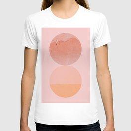 Abstraction_Circles_ART_Minimalism_001 T-shirt