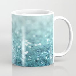MERMAID GLITTER - MERMAIDIANS AQUA Coffee Mug