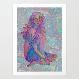 muhsh-rooms Art Print
