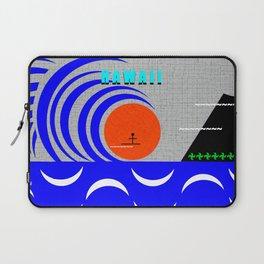 Hawaii stick man design A Laptop Sleeve