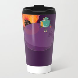 Robot's Day Out Metal Travel Mug