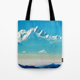 12,000pixel-500dpi - Nicholas Roerich - Mount Of Five Treasures - Digital Remastered Edition Tote Bag