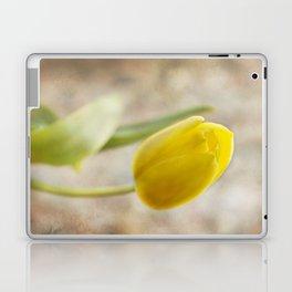 Yellow charm Laptop & iPad Skin