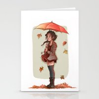 laia Stationery Cards featuring Autumn by Laia™