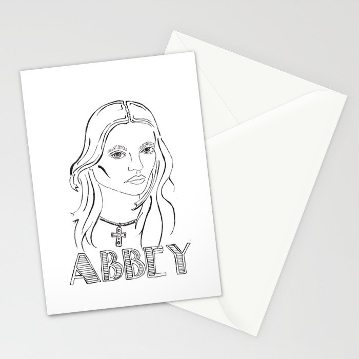 Abbey Stationery Cards