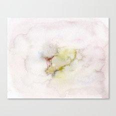 Foggy town  Canvas Print