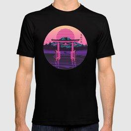 Retro Japanese Torii Gate T-shirt