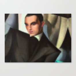 Lego: Portrait of Marquis Sommi Canvas Print
