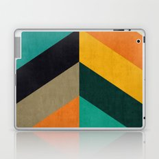 Minimalist and colorful chevron Laptop & iPad Skin