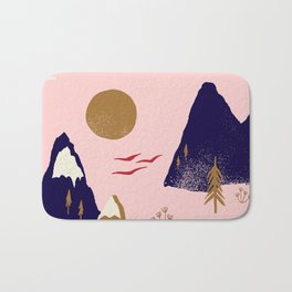 Mountain Scape Bath Mat