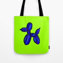 Doggy - blue & green Tote Bag