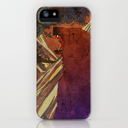 The Lament of Bear and Crow iPhone Case