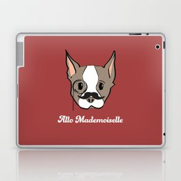 Ollie, Dapperdog says Allo Laptop & iPad Skin