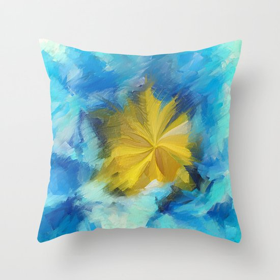 Frantic Throw Pillow
