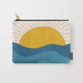 Sea Sunrise Carry-All Pouch