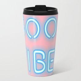 Good vibes (pastel) Travel Mug