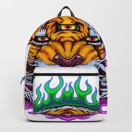 Third Eye Tiger Backpack