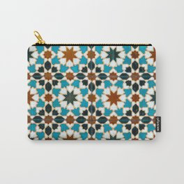 Moorish tiles Carry-All Pouch