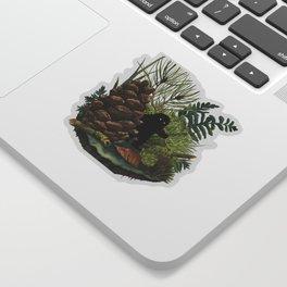 Tiny Sasquatch Sticker
