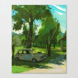 cévennes 03 // renault Canvas Print