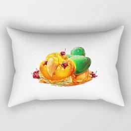 Caique Cake Rectangular Pillow