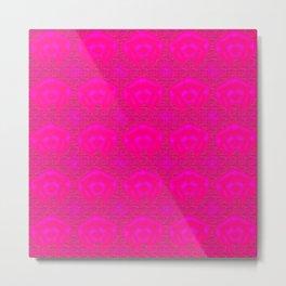 Softly pink Metal Print