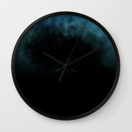 Unmerciful Blue Wall Clock