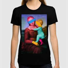 Raphael Classical Painting Remix Pop Art T-shirt