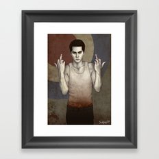 Stilinski Framed Art Print