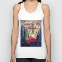 video games Tank Tops featuring Girls & Video Games by Danielle Feigenbaum