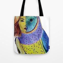 Owl woman Tote Bag